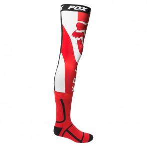 Skarpetki FOX Mirer Knee Brace czerwony