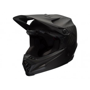 BELL FULL-9 matte black grey kask fullface