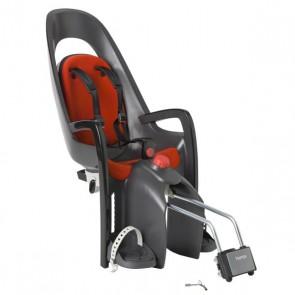 Hamax Fotelik row. CARESS szaro-ciemnoszary czerwona wyściółka