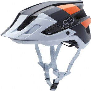 Kask Rowerowy Fox Flux Crankworx Le Black/white/orange L/xl