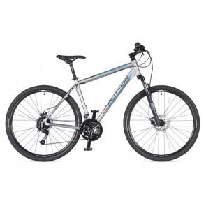 """VERTIGO 29 22"""" srebrno(mat)/czarny(mat), rower AUTHOR'19"""