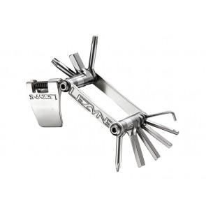 Kluczyk podręczny LEZYNE SV-10, 10 kluczy srebrny (NEW)