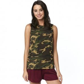 Koszulka Fox Lady Bez Rękawów Falcon Camo Xs