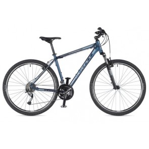 "STRATOS 29 18"" granatowo/czarny, rower AUTHOR'19"