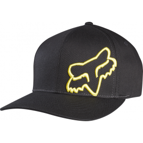 Czapka Z Daszkiem Fox Flex 45 Black/yellow S/m