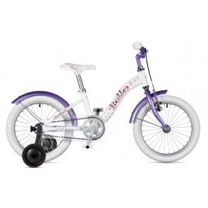 "BELLO 16 9"" biało/fioletowy, rower AUTHOR'19"