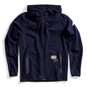 Bluza męska 100% VICEROY Hooded Zip Tech Fleece Navy roz. L (NEW)