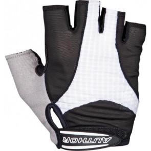 Rękawiczki kolarskie AUTHOR Men Elite Gel czarno-białe XXL