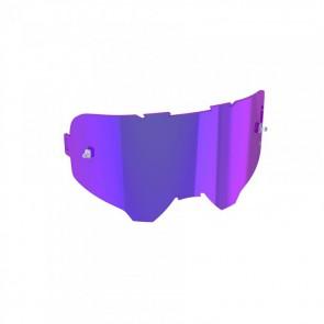 Leatt Szyba Podwójna, Nieparująca Model IRIZ Fioletowe Lustro Purple Lens