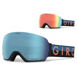 Gogle zimowe GIRO LUSI BLUE PEACH THROWBACK (szyba VIVID ROYAL 18% S3 + VIVID INFRARED 62% S1) (DWZ)