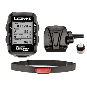 Komputer rowerowy LEZYNE Micro GPS HRSC Loaded (DWZ)