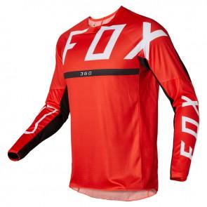 Jersey FOX 360 Merz czerwony