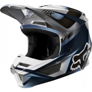 Kask Fox V-1 Motif Blue/grey S