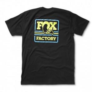 FOX koszulka Throwback czarna L
