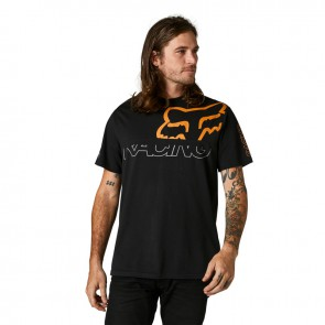 T-shirt FOX Skew Crew czarny