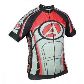 Koszulka AUTHOR ARP czarno-czerwono-biała XXXL