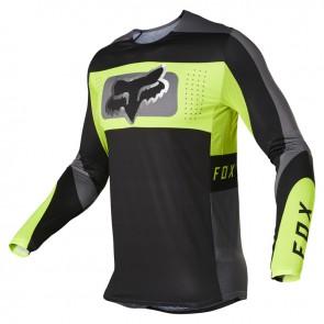 Jersey FOX Flexair Mirer black/yellow