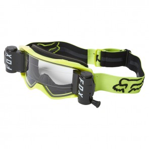 Gogle FOX Vue Stray Roll Off Black/Yellow (szyba clear)