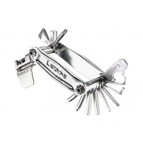 Kluczyk podręczny LEZYNE STAINLESS-19, 19 kluczy srebrny (NEW)