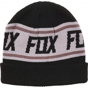 Czapka Zimowa Fox Lady Wild And Free Beanie Black Os
