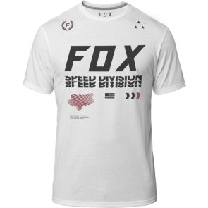 Fox Triple Threat Tech Optic White koszulka