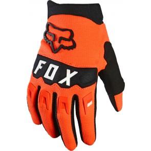 Rękawiczki FOX Junior Dirtpaw pomarańczowy