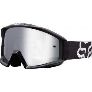 Gogle Fox Main Race Black - Szyba Chrome Spark (1 Szyba W Zestawie)