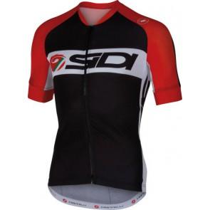 Koszulka DINO TRE czarno-czerwono-biała M