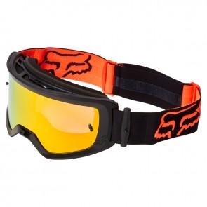 Gogle FOX Main Stray Spark Black/Orange