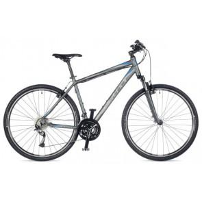 "STRATOS 22"" grafitowy mat, rower AUTHOR'18"