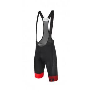 Bluza kolarska Vector, czarno-czerwona, rozmiar S