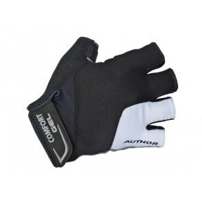 Rękawiczki kolarskie AUTHOR Men Comfort Gel X6 czarno-białe M