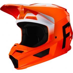 Kask Fox V-1 Werd Flo Orange Xs