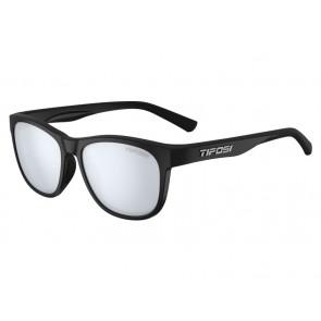 Okulary TIFOSI SWANK satin black (1szkło Smoke Bright Blue 11,2% transmisja światła) (NEW)