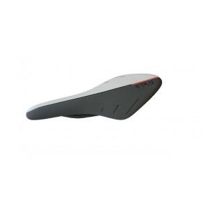 FI'ZI:K Siodło szosowe Arione 00 Carbon Braided Czarno-czerwone Fluo