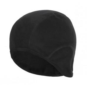 Accent Czapka kolarska Fleece czarna, S/M