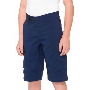 Spodenki 100% Junior Ridecamp Navy
