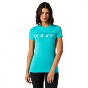 T-shirt FOX Lady Pinnacle Tech teal