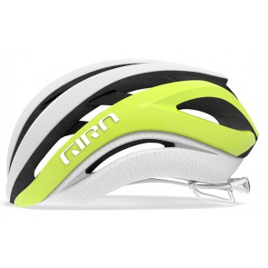 Kask szosowy GIRO AETHER SPHERICAL MIPS matte citron white roz. M (55-59 cm) (NEW)