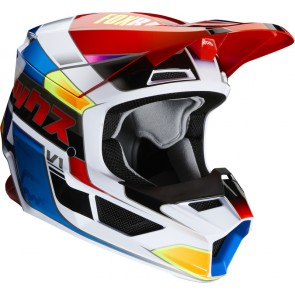 Kask Fox Junior V-1 Yorr Blue/red