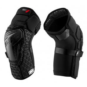 Ochraniacze na kolana 100% Surpass czarny