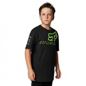 T-shirt FOX Junior Skew czarny