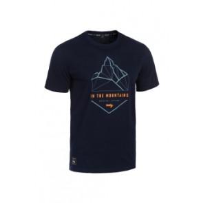 T-shirt ROCDAY Summit granatowy