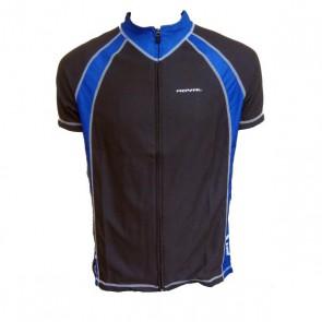 ROYAL Koszulka ENDURO czarno niebieska XL