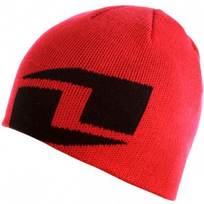 ICON BEANIE RED/BLACK OS