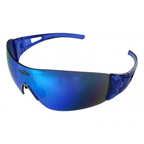 Okulary LAZER MAGNETO Crystal Blue (Smoke-Blue REVO, Yellow-Blue Mirror, Clear)