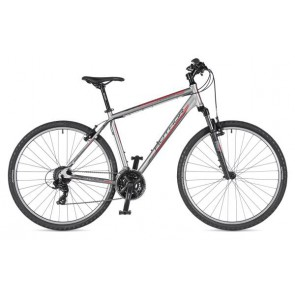 "HORIZON 29 20"" srebrno(mat)/czarny(mat), rower AUTHOR'19"