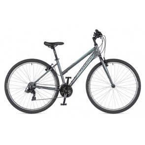 "THEMA 29 17"" grafitowo(mat)/grafitowy(mat), rower AUTHOR'19"