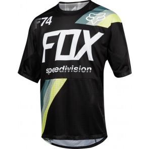 Koszulka Rowerowa Fox Demo Drafter Black S