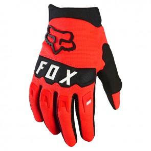 Rękawiczki FOX Junior Dirtpaw czerwony